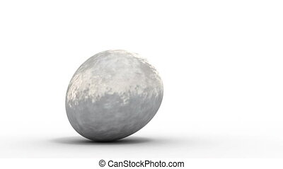 rolling soccer ball