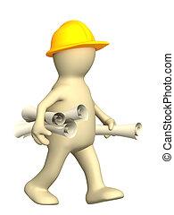 rollos, constructor, 3d