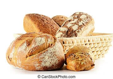 rollos de pan, composición