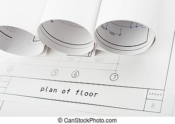 rolls, of, blueprints