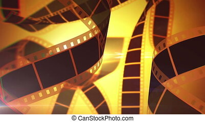 """Rolls of Cinematographic Film Tape"" - ""An inspiring 3d..."