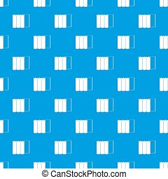 Rolls of paper pattern seamless blue