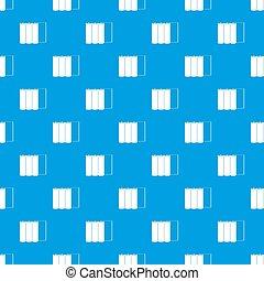 Rolls of paper pattern seamless blue