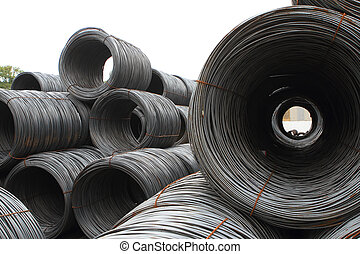 Rolls of steel sheet