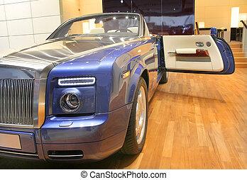 Rolls Royce luxury convertible