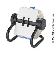rolodex rotary card address desk organiser - a rolodex...