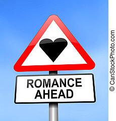 románc, ahead.