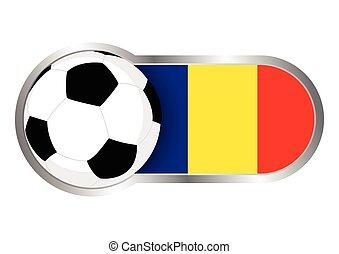 románia, jelvény, futballcsapat