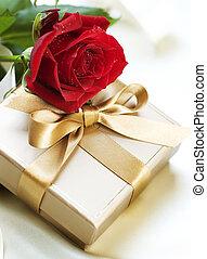 romántico, regalo