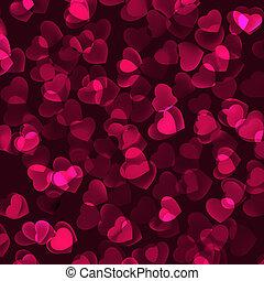 romántico, valentino, eps, fondo., 8, día
