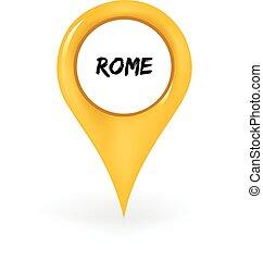 rom, lokalisering