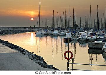 rom, marina, (italy)