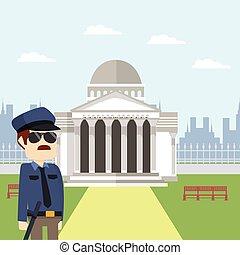 rom, polis