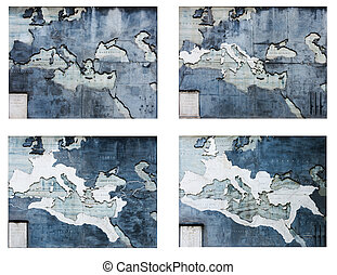 Roma Empire maps