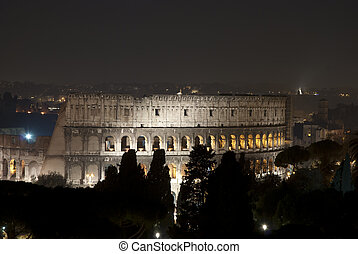 roma, notte