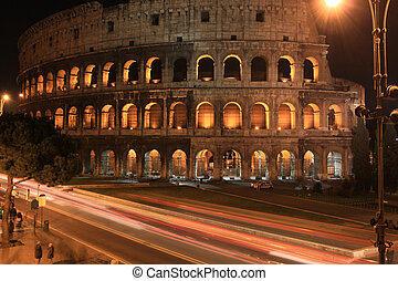 roma, notte