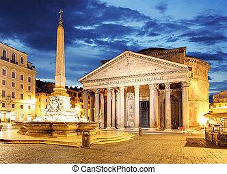 roma, -, panteón, italia