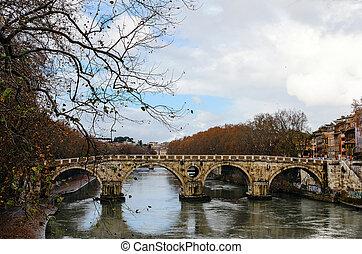 Roma. Ponte Sisto