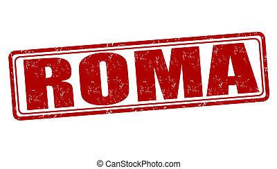 Roma stamp