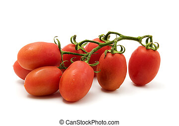 Roma Tomato - Roma tomato on a white background