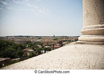 roma, veduta