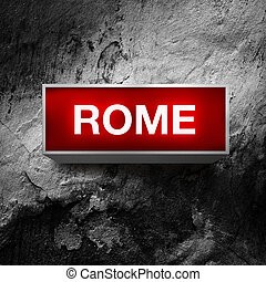 roma, vendemmia, luce, mostra