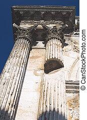 romain, closeup, architecture