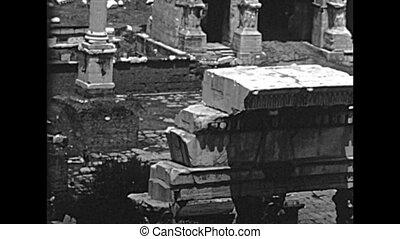 romain, rome, archival, forum