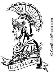 romain, warrior., ancien