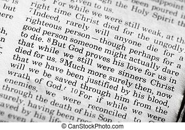 romains, 5:8