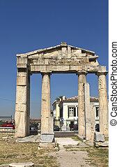 Roman agora and Library of Hadrian