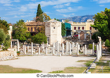 Roman Agora at Athens - The Roman Agora at Athens is located...