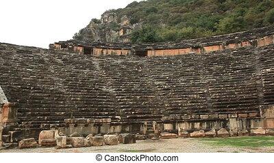 Roman  amphitheater in Myra