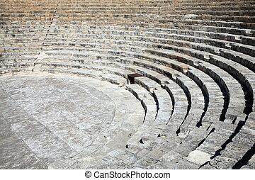 Roman amphitheatre, Kourion, Cyprus - The 2nd century BC ...