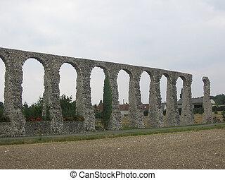 Roman Aqueduct, Loire Valley, France