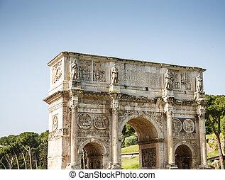 Roman Arch at Coliseum