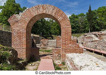 Roman Baths, Hisarya, Bulgaria