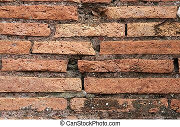 Roman brick wall #2