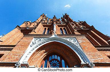 Roman Catholic Church built in 1906 in Samara, Russia