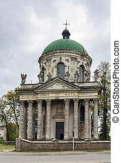 Roman Catholic church in Pidhirtsi, Ukraine