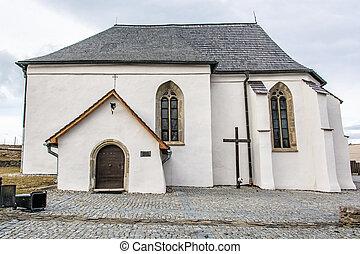 Roman catholic church of St. Anna, Strazky, Slovakia