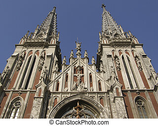 Roman-catholic church of st. Nicolay in Kiev