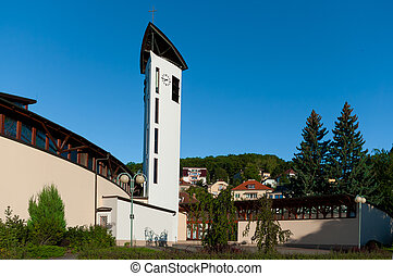 Roman Catholic Church of the Holy Family.