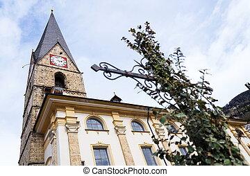 Roman Catholic Pfarrkirche St. Alban in Matrei in Osttirol, Austria