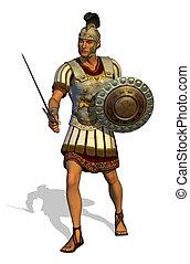 Roman Centurion - 3D render depicting a Roman Centurion...