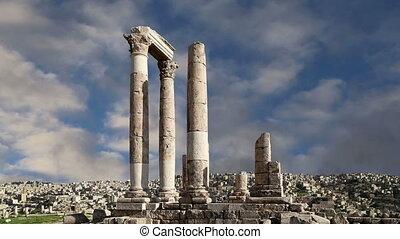 roman Citadel Hill, Amman,Jordan