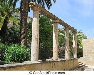 Roman columns in Baeza