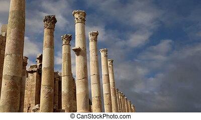 Roman Columns,Jerash,Jordan
