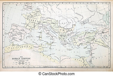 Roman Empire Map - Map of the Roman Empire in the Apostolic...