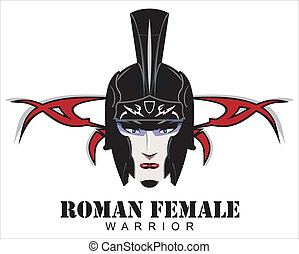 Roman Female Warrior